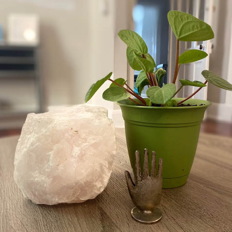 Crystal and Plant